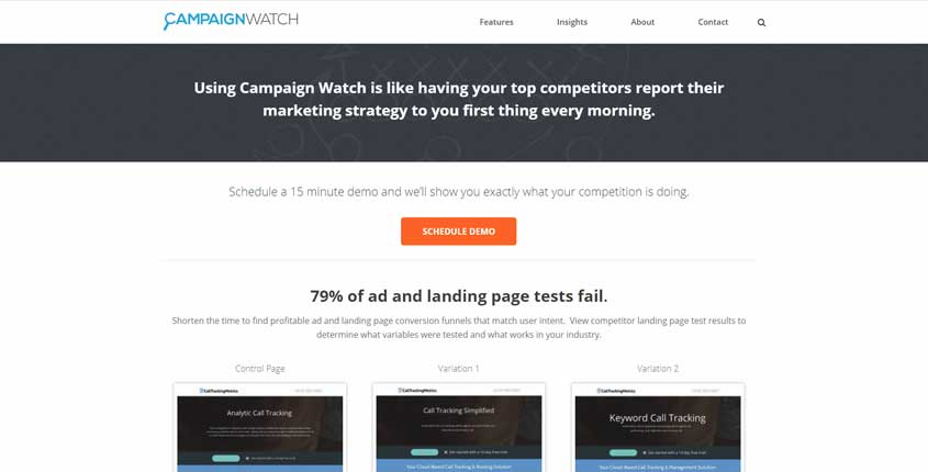 Campaign Watch Tool