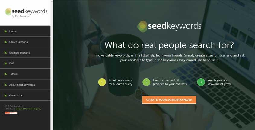 Seed Keywords Tool