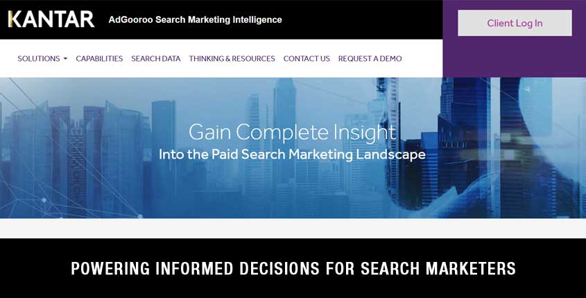 AdGooroo Search Marketing Intelligence Tool