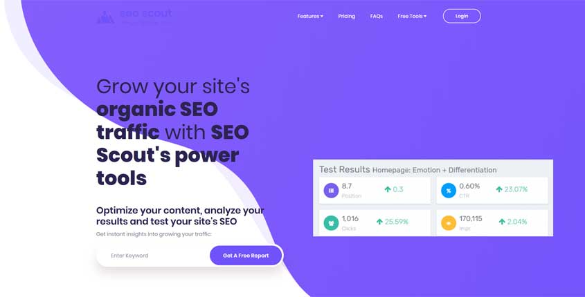 SEO Scout Tool